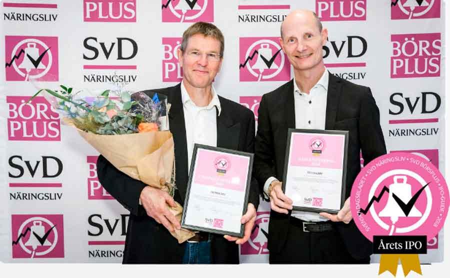 STENOCARE Best IPO award