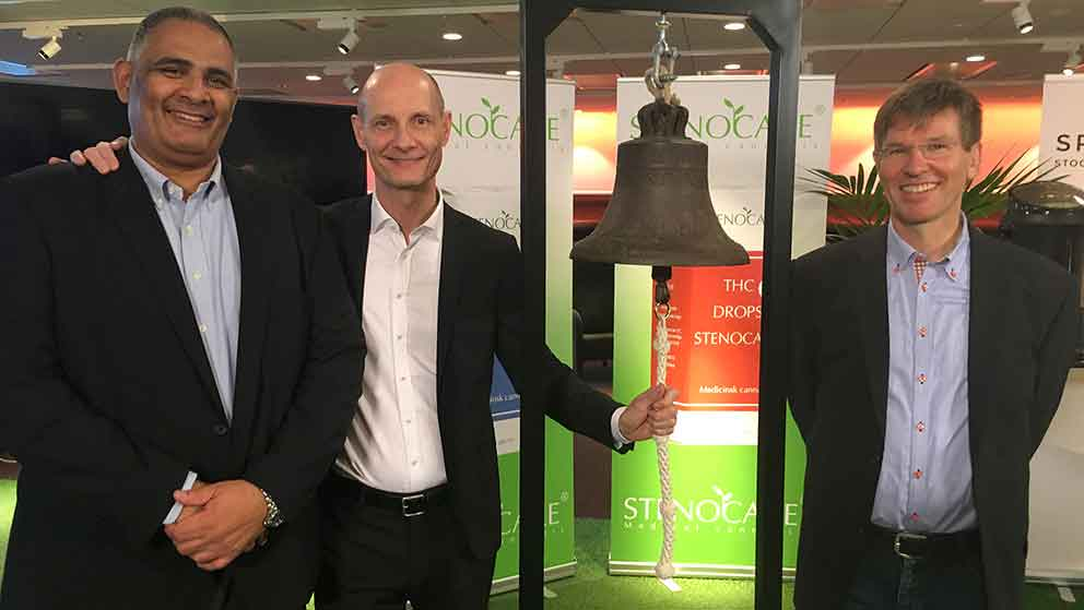 STENOCARE Executive management Ring the bell